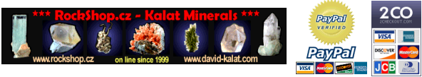 Store - Rockshop.cz - Fine Minerals,Moldavites and Jewelry
